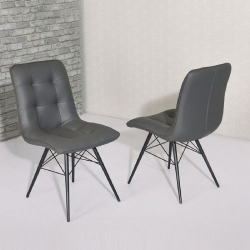 Hix Grey Dining Chair